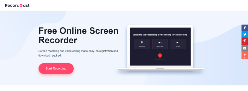 screencasting free tool