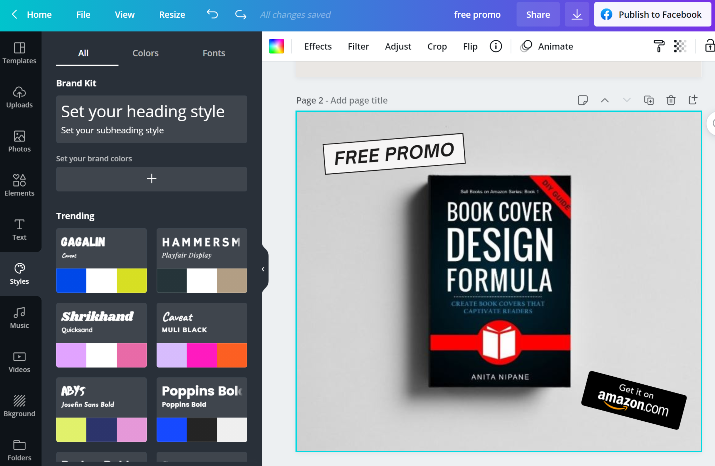 Canva for Self-published Authors
